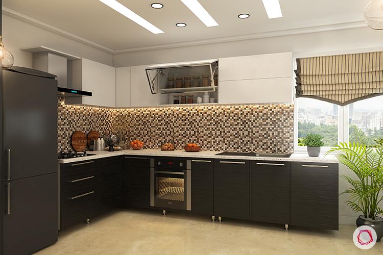 Kitchen backspalshes brown
