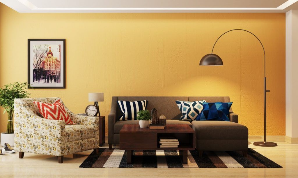 compact living room