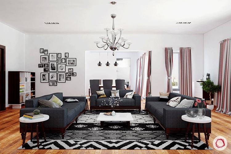 5 Living Room Arrangements Perfect For Big Families