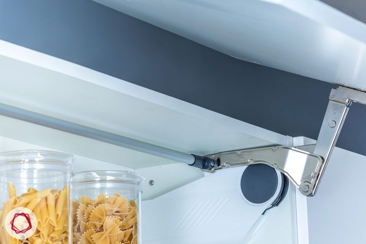Modular kitchen cabinet - Lift up mechanism