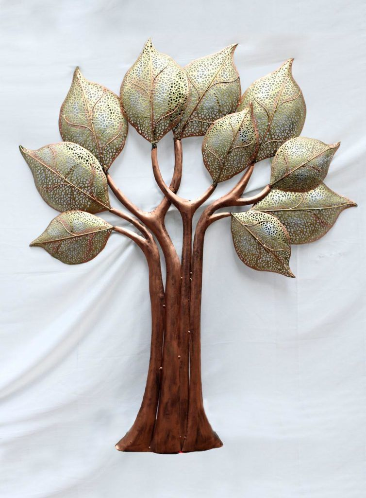 home decor_accessory_metal accents_tree