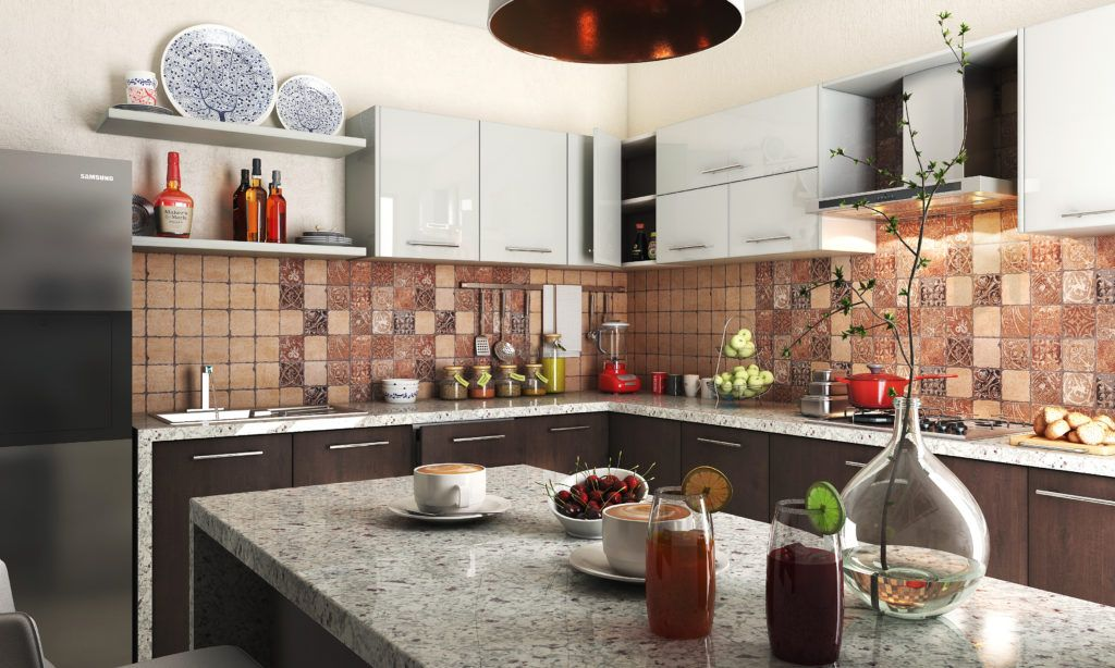 select durable materials for a two cook kitchen