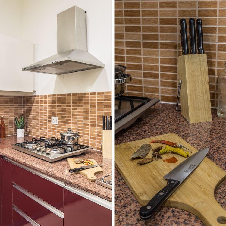 gurgaon apartment kitchen