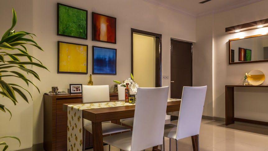 gurgaon apartment dining area