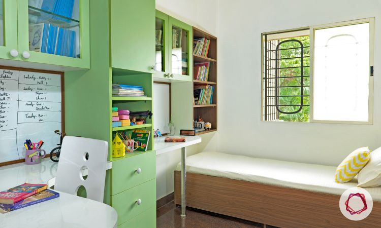 Bangalore interior design_study room