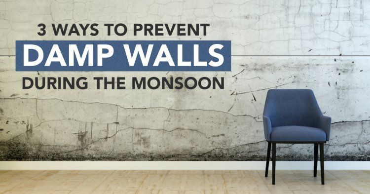 Ways to prevent damp walls