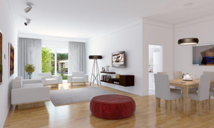 Decorate white walls