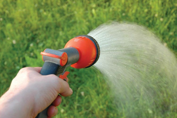 Artificial Grass - Spray With Water
