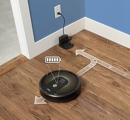 Roomba_Bot Vaccum Cleaner-Home Automation