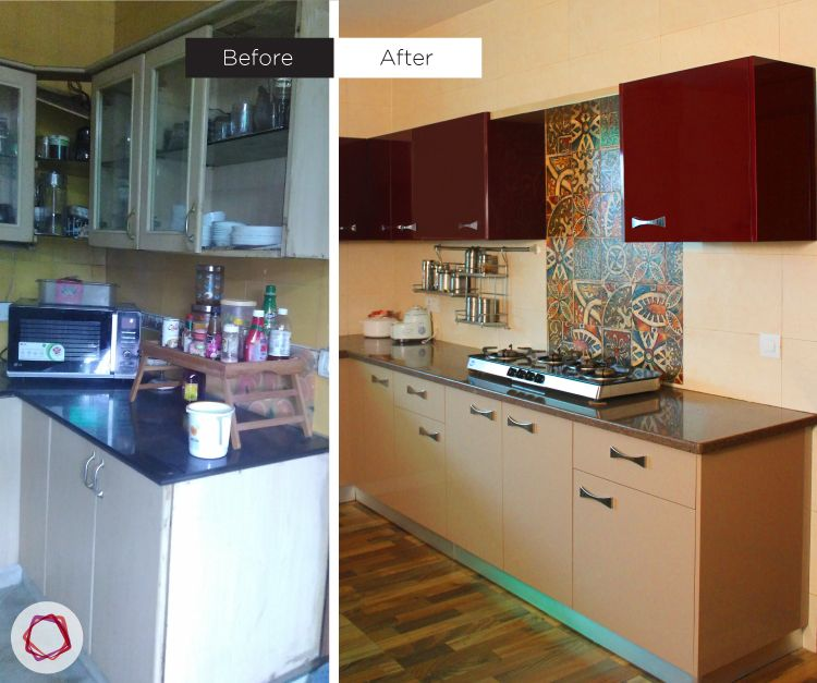 Rashi Bhasin kitchen makeover