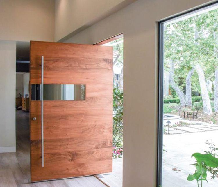 Door design_pivot door