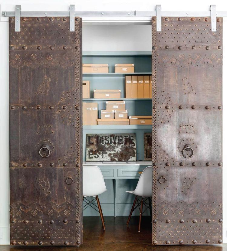 Door design ideas_metal doors