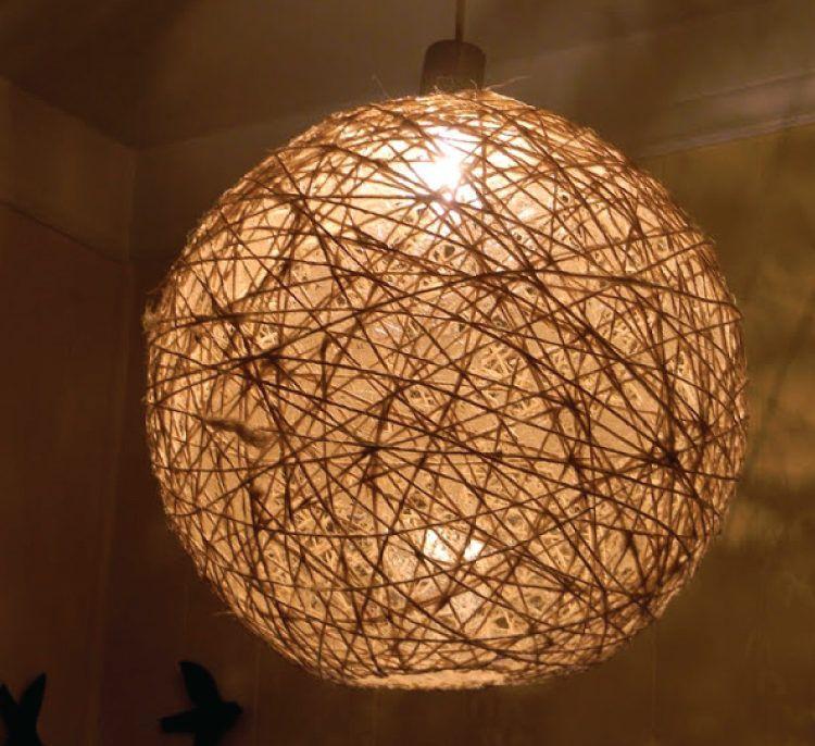 String DIY night lights