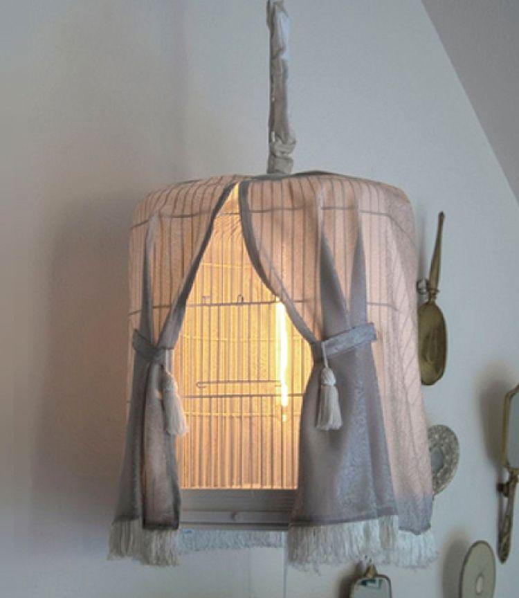 Bird cage DIY night lights