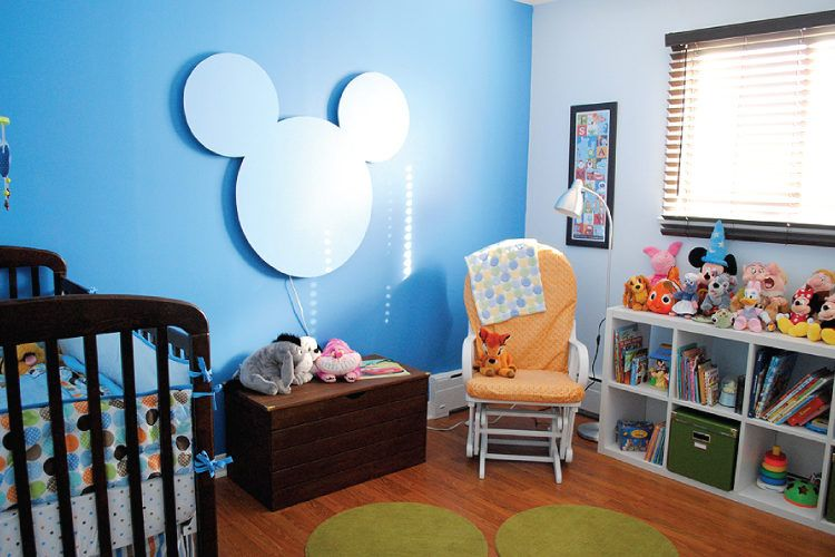 Mickey Mouse DIY night lights.