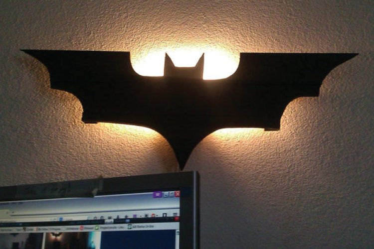 Batman DIY night lights