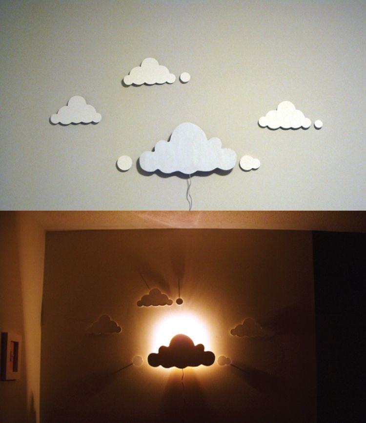 Cloudy DIY night lights