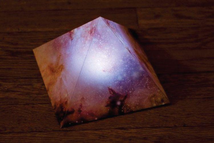 Pyramid DIY night lights