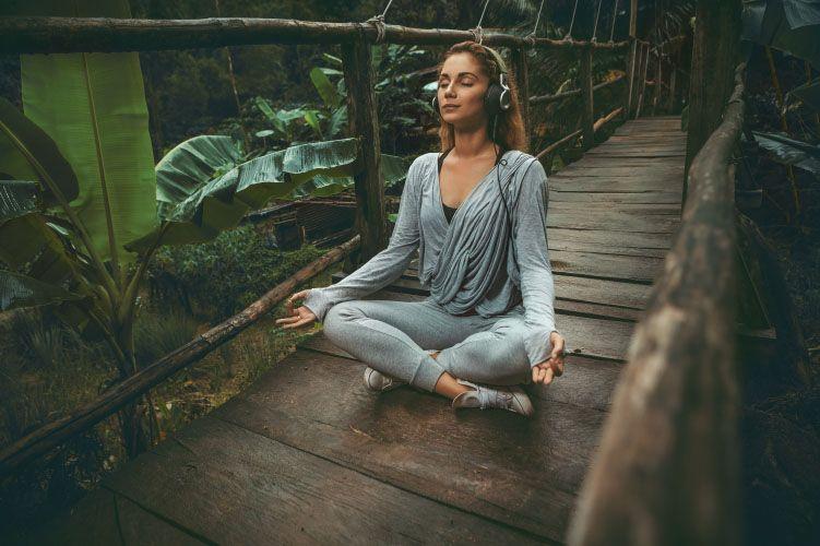 music in meditation corner