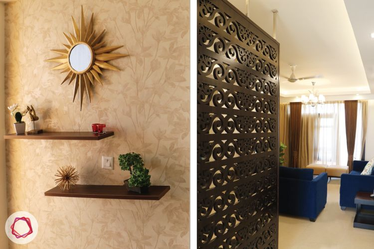 Entryway And Jalli Divider