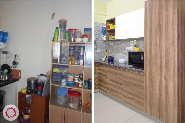 modular kitchen layout