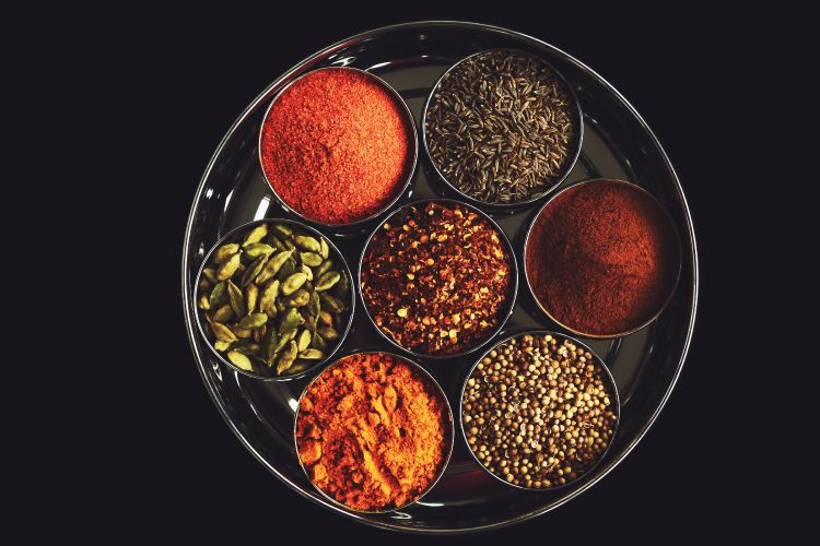 masala dabbas are excellent spice storage solutions