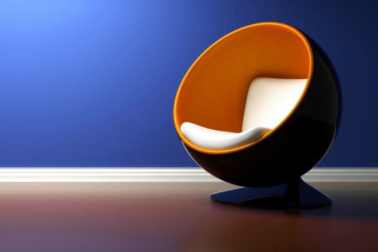 Famous chair designs_ball chair