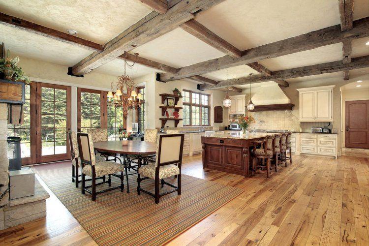 rustic style interiors