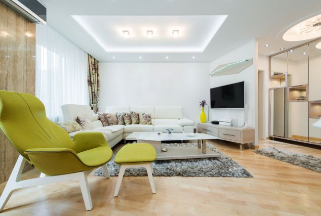 eco-friendly home with CFL and LeD