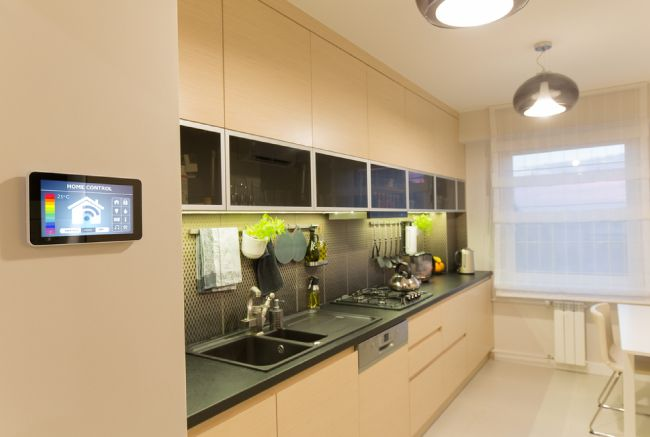 eco-friendly home with system to conserve energy