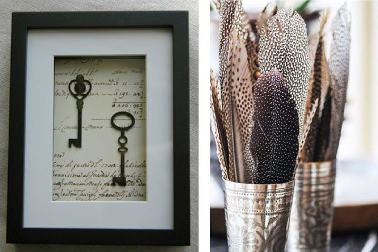 Frame antique silver keys and turn your heirloom into nostalgic art.