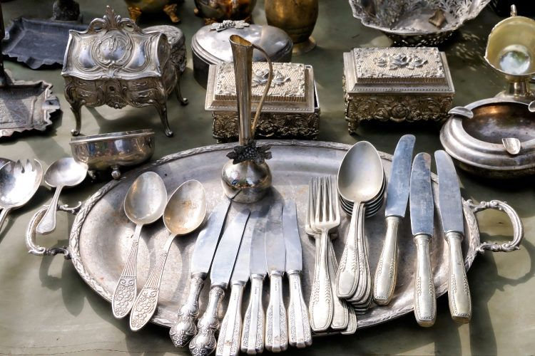 Decorate your home with your silver heirloom.