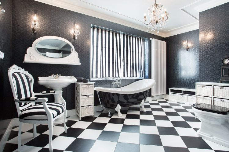 Bathroom decorating tips_additional seating