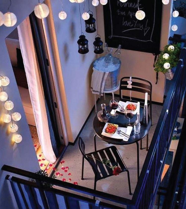 balcony lighting