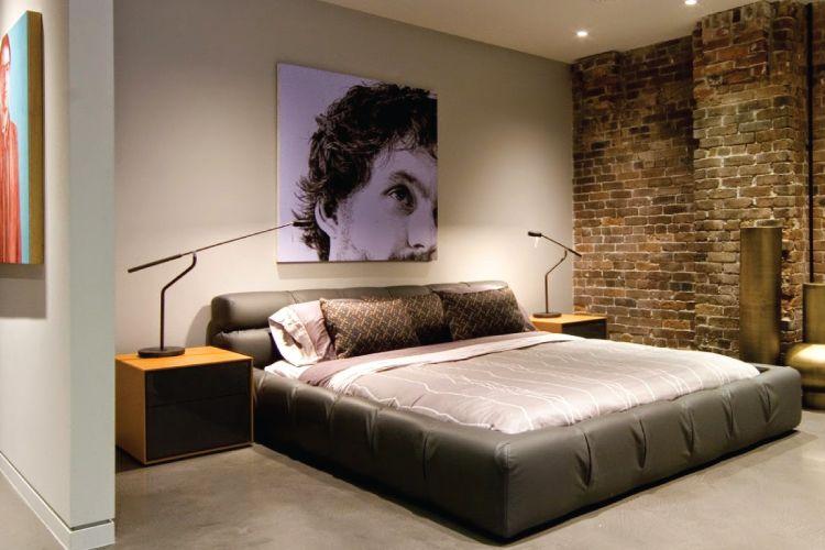 bachelor pad bedroom