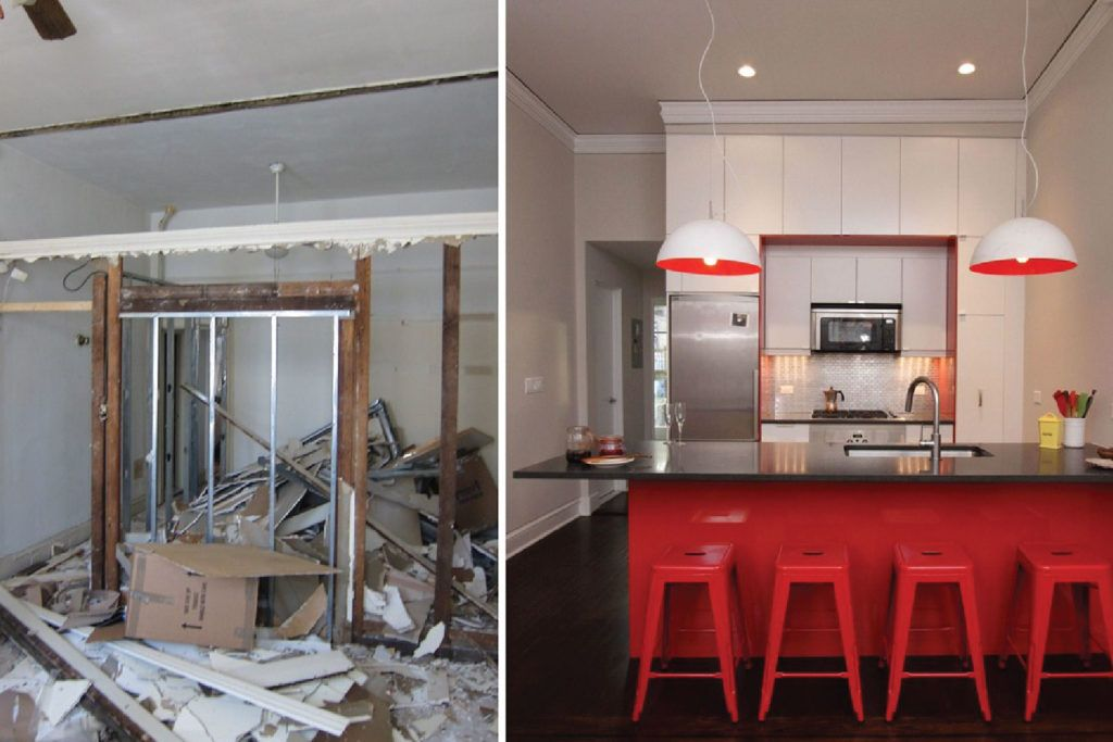Budget renovation ideas_Before After Kitchen Renovation