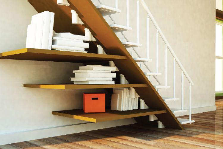 Under your stairs storage ideas