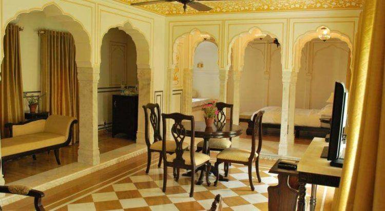Haveli style floor