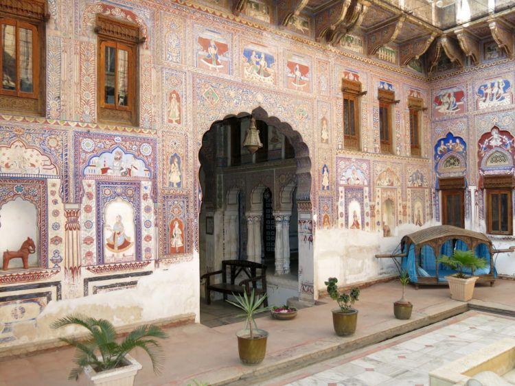 Haveli frescoes