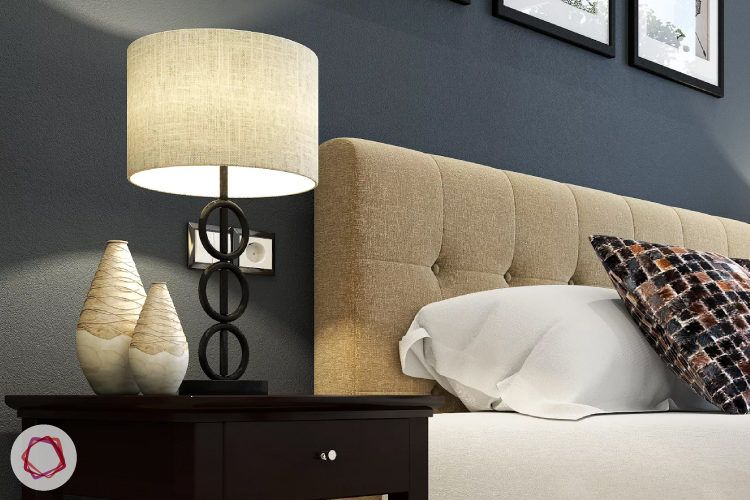How to choose lights for your home_lampshades in bedroom