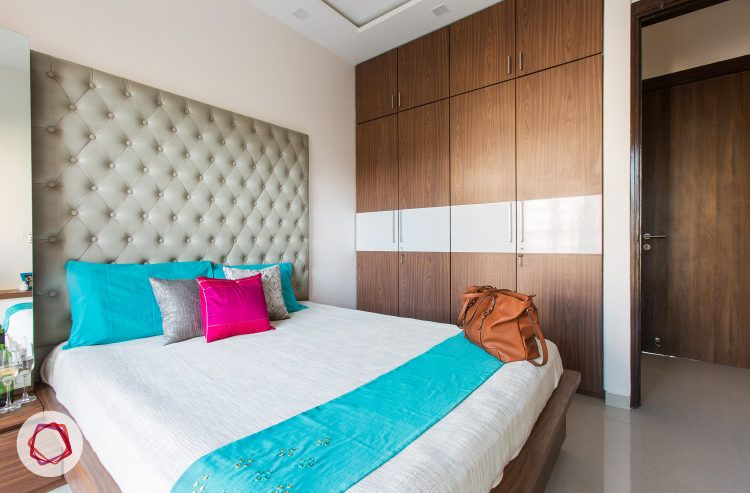 Mumbai interior design_Livspace home_greige headboard