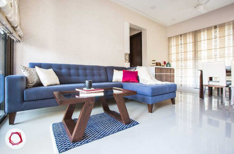 Mumbai interior design_Livspace home_living room