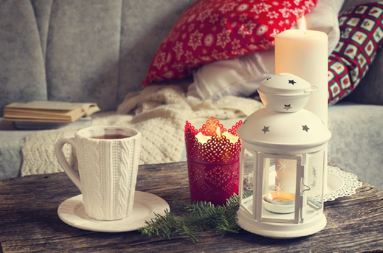 Light some candles for a warm home - in temperature and style.