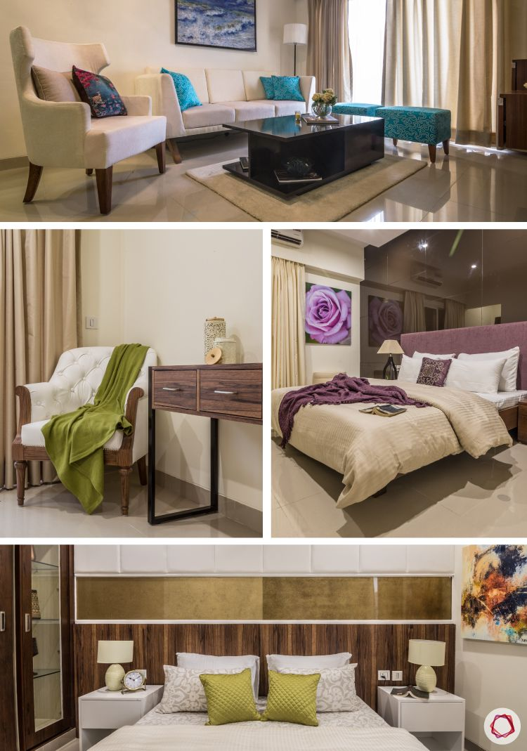 Speckles of art dot this New Delhi Livspace home, making it a creative and vibrant apartment.