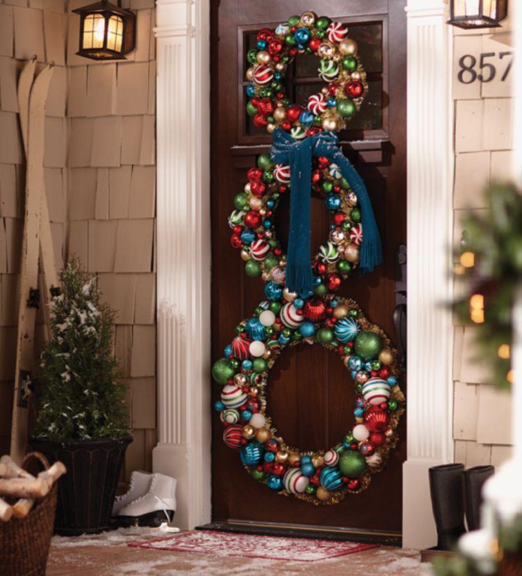 Christmas Ideas-baubles for wreath