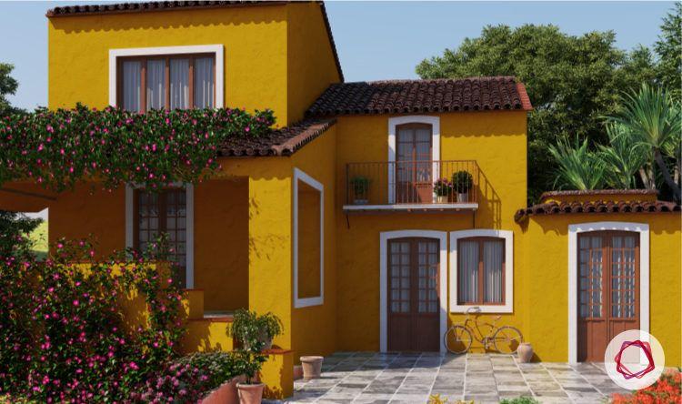 Exterior paint colors_yellow walls