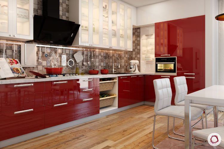 colour-schemes-for-kitchen-red-wine