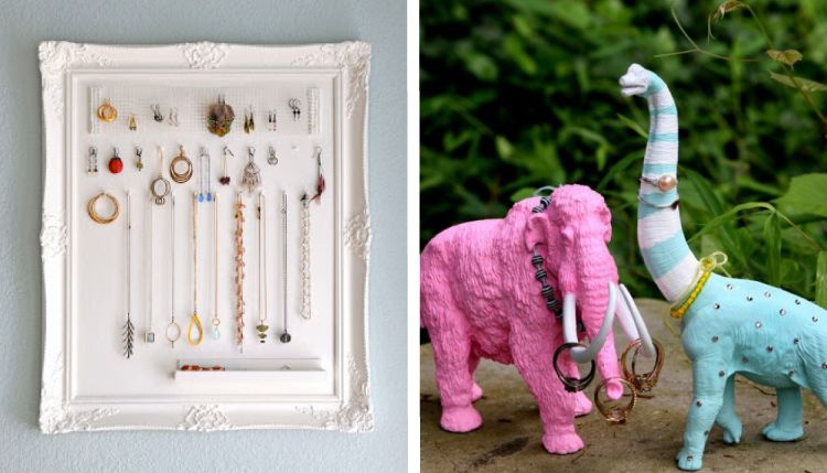 Jewellery organization_frames and artefacts
