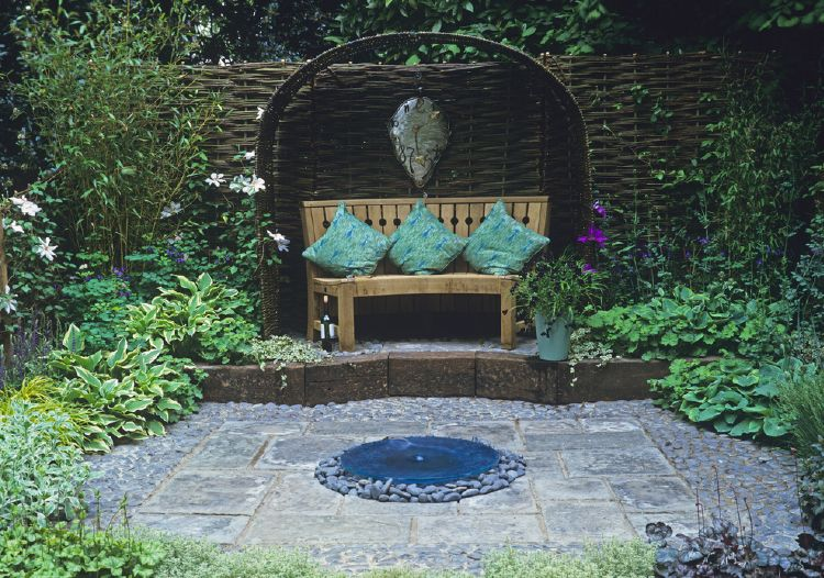Design Tips Garden Seating Area