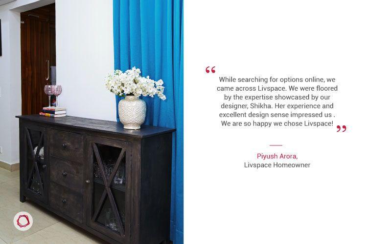 Noida interior design_client quote